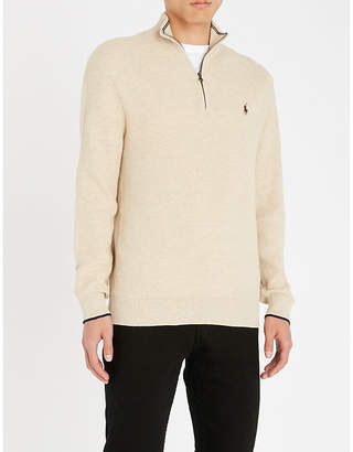 Polo Ralph Lauren Funnel-neck cashmere jumper