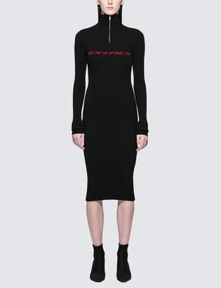 Misbhv Extacy Half-zip Dress
