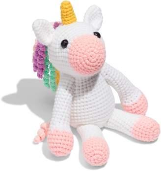 SEND A UNICORN Twinks Crochet Unicorn Doll