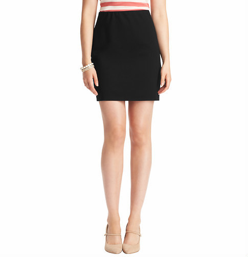 LOFT Petite Stretch Ponte Skirt