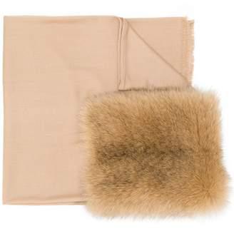 Max Mara WSones1 foxfur scarf