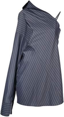 DAY Birger et Mikkelsen Strateas Carlucci striped one shoulder dress