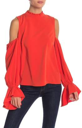 Bishop + Young Cold Shoulder Blouse
