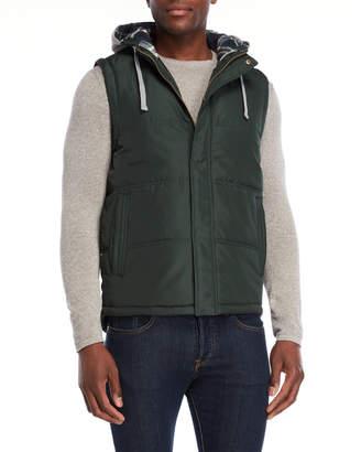 Weatherproof Hooded Puffer Vest