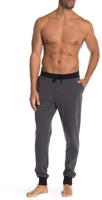 Unsimply Stitched Contrast Trim Lounge Joggers