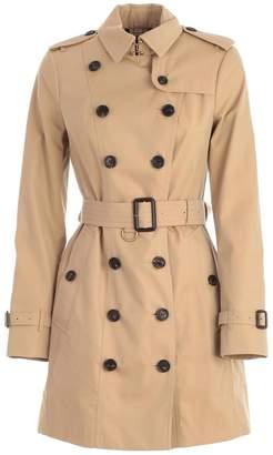Burberry Sandringham Mid Length Trench Coat