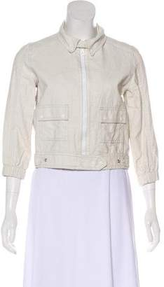 Proenza Schouler Casual Linen Jacket