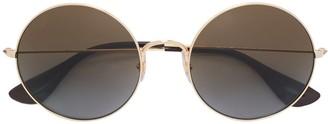 Ray-Ban oversized round sunglasses