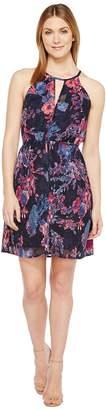 Lucky Brand Printed Halter Dress Women's Dress