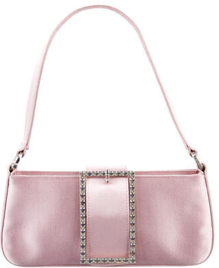 Jimmy Choo Jimmy Choo Embellished Satin Bag