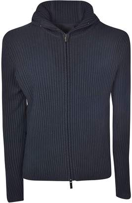 Rrd Roberto Ricci Design Rrd - Roberto Ricci Design Ribbed Knit Zip Front Hoodie
