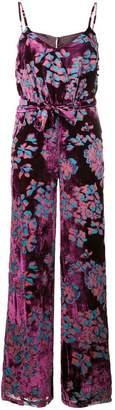 Saloni floral print jumpsuit