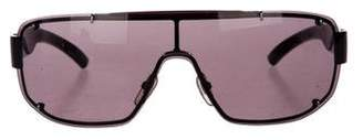 Gucci Tinted Shield Sunglasses