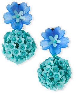 Sachin + Babi Fleur Drop Earrings