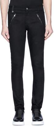 Alexander McQueen Zip pocket slim fit jeans