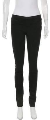 Helmut Lang Leather Skinny Pants Black Leather Skinny Pants
