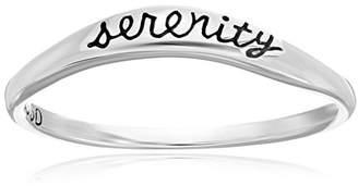 Bob Siemon Sterling Serenity Promise Ring