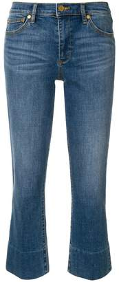 Tory Burch flared cropped jeans
