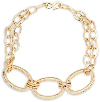 Robert Lee Morris Women's Three Large Linked Chain Necklace