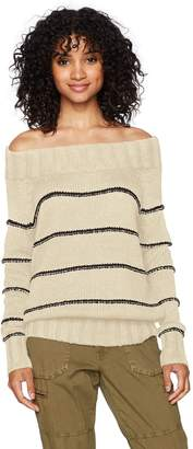 Billabong Junior's Snuggle Down Off The Shoulder Pull Over Sweater