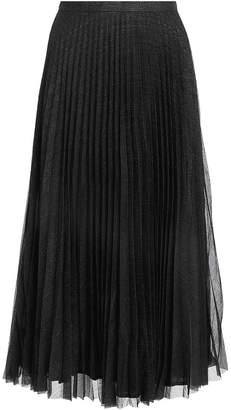 Anine Bing Lovisa Black Pleated Skirt