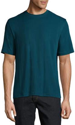 Claiborne Short Sleeve Crew Neck T-Shirt