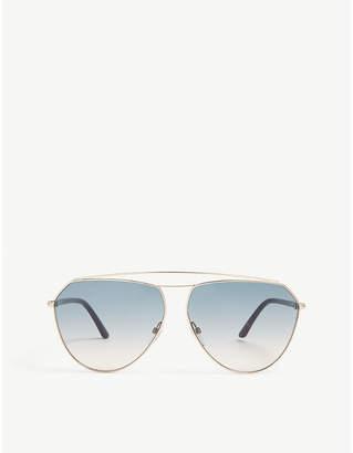 Tom Ford TF681 Binx aviator sunglasses