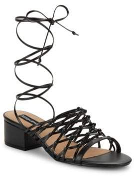 Design Lab Mya Lace-Up Sandals