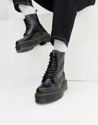 Dr. Martens (ドクターマーチン) - Dr Martens Jadon 8-eye chunky sole boots in black