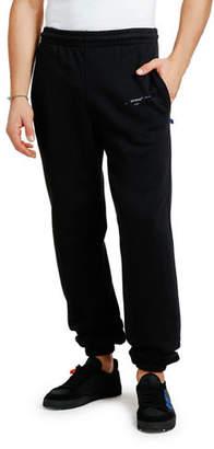 Off-White Men's Unfinished Slim Sweatpants