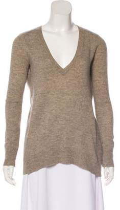 Line Cashmere Knit Sweater