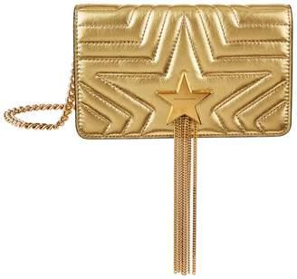 Stella McCartney Stella Star Flap Front Shoulder Bag