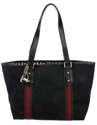 2a271219e30 Pre-Owned at TheRealReal · Gucci GG Canvas Jolicoeur Medium Tote