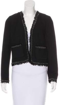 Rebecca Taylor Casual Open-Front Jacket