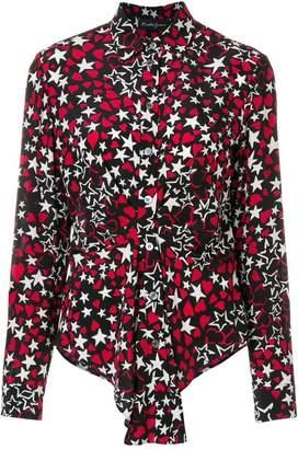 Rossella Jardini star and heart printed shirt