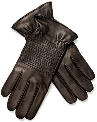 Portolano Men's Nappa Gloves with Suede Perforated Palm