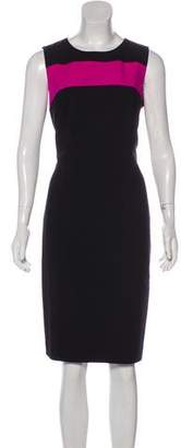 Calvin Klein Colorblock Midi Dress