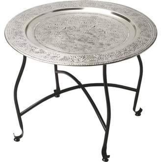 Butler Specialty Company Butler Agadir Metal Moroccan Tray Table