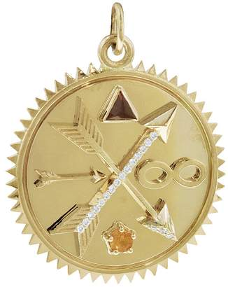 Foundrae Medium Freedom Of Expression Medallion - Yellow Gold