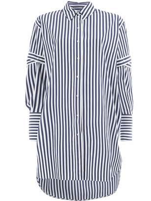 Alexander McQueen striped button shirt