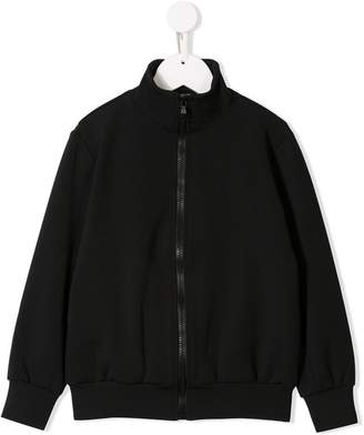 Fendi back print bomber jacket