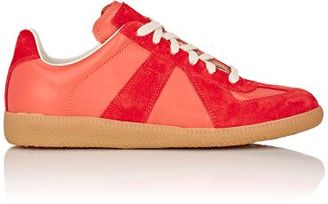 """Maison Margiela Women's """"Replica"""" Low-Top Sneakers-RED $470 thestylecure.com"""