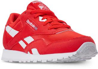 Reebok Boys  Classic Nylon Mu Casual Sneakers from Finish Line 4cc03f8b5