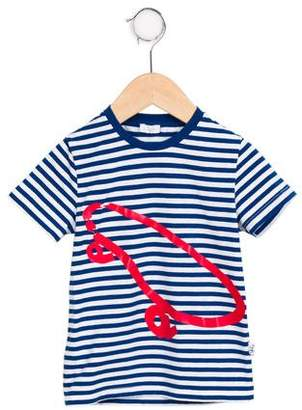 Il Gufo Boys' Striped Graphic Set