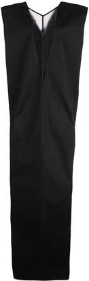 Rick Owens V-neck Dagger dress