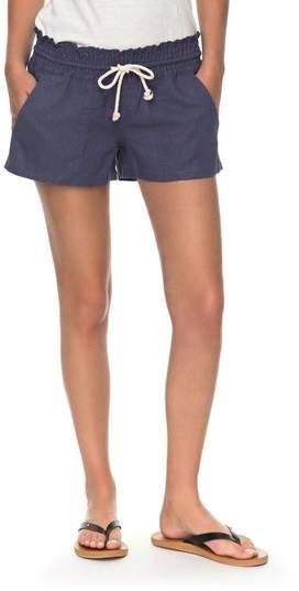 Women's Roxy 'Oceanside' Linen Blend Shorts