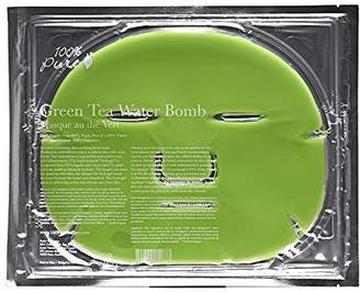 100% Pure Green Tea Water Bomb Face Mask