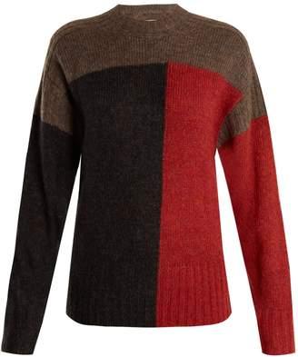 Etoile Isabel Marant Davy colour-block knit sweater