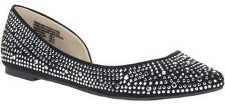 Big Buddha Women's Embellished Ballet Flat