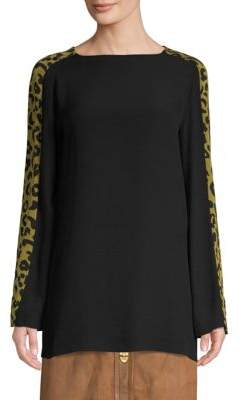 Escada Sport Cheetah Tunic Top